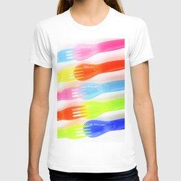 Plastic Cutlery T-shirt