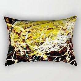 Chaos Tree - Light Painting Rectangular Pillow