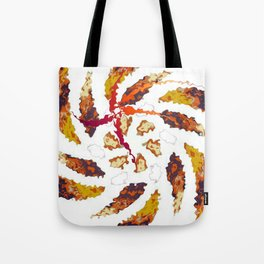 Twirly Kaleidoscope Tote Bag