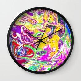Angry Face Wall Clock