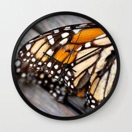 Broken Monarch Wall Clock