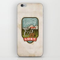 camp iPhone & iPod Skins featuring Camp by Seaside Spirit