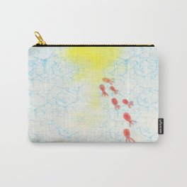 Goldfish swimming in warm water Carry-All Pouch
