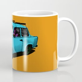 Trabant blue pop Coffee Mug