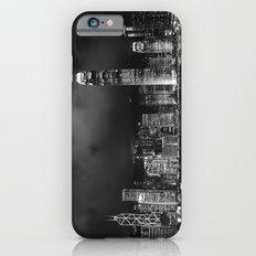 Hong Kong Skyline [Black & White] Slim Case iPhone 6s