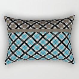 Plaid patchwork 2 Rectangular Pillow