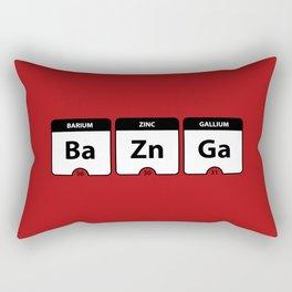 Bazinga Periodic Table Funny Quote Rectangular Pillow