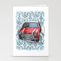 mini Stationery Cards featuring Mini by Magdalena Almero