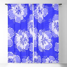 Dutch Lace Rose Blackout Curtain