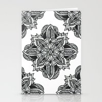 zentangle Stationery Cards featuring zentangle by Maria Velik