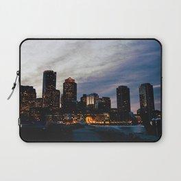 Christmas in Boston Laptop Sleeve