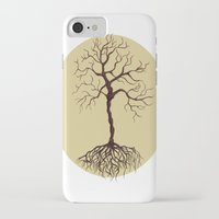 tree of life iPhone & iPod Cases featuring life tree by Mihai Paraschiv