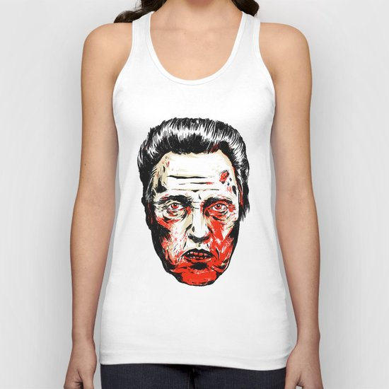 Walken Dead Unisex Tank Top
