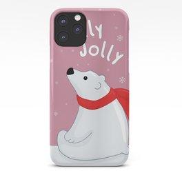 Polar Bear - Holly Jolly iPhone Case
