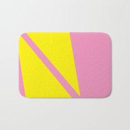 Pink Angles Bath Mat