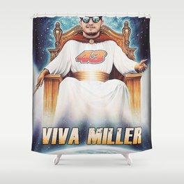 Viva Miller Shower Curtain