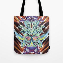 Abstract Graff Tote Bag