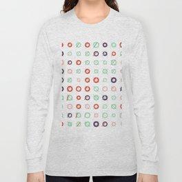 RAND SHAPES #2: Procedural Art Long Sleeve T-shirt