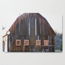 Rustic Old Country Barn Cutting Board