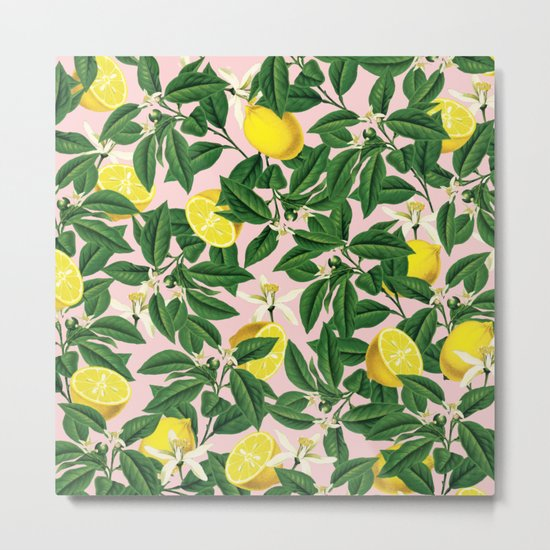 Lemonade #society6 #decor #buyart Metal Print