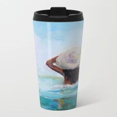 Private Beach Metal Travel Mug