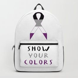 Asexual Ribbon Backpack