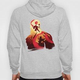 Kratos and Boy Hoody