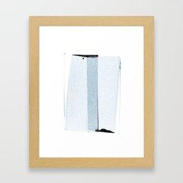 transparent 2 Framed Art Print