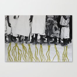 African Roots Canvas Print