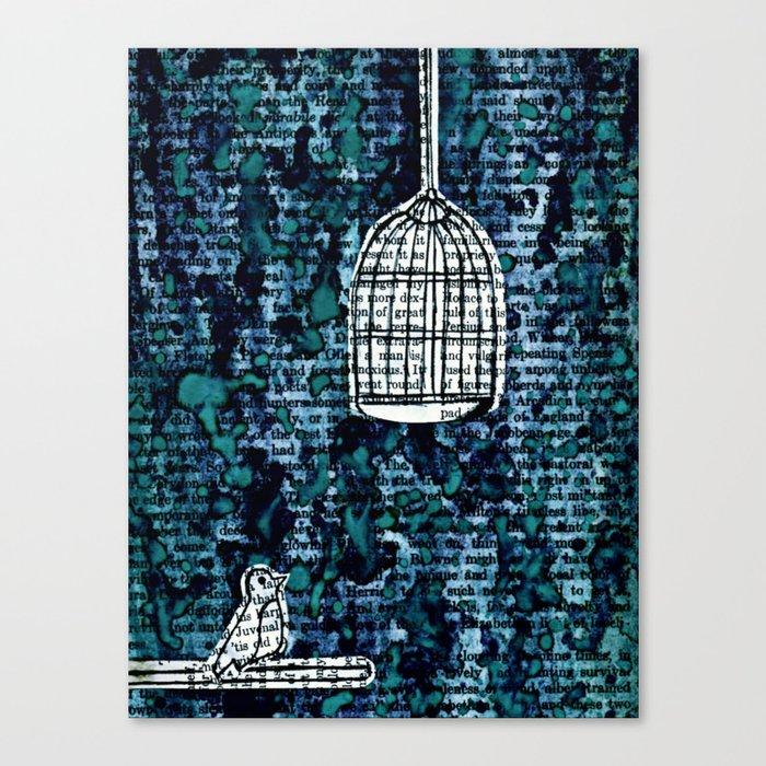 The Bird Cage Canvas Print