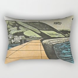 Fortified Headland, Aberystwyth Rectangular Pillow