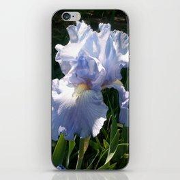 Purple Iris Blossom iPhone Skin