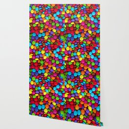 Candy Coated Chocolate Wallpaper