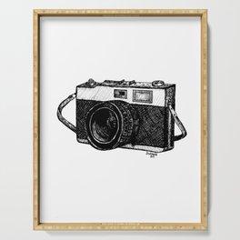 vintage camera Serving Tray