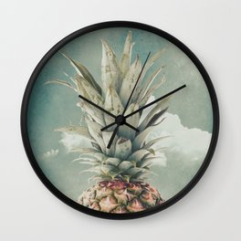 PINEAPPLE 8a Wall Clock