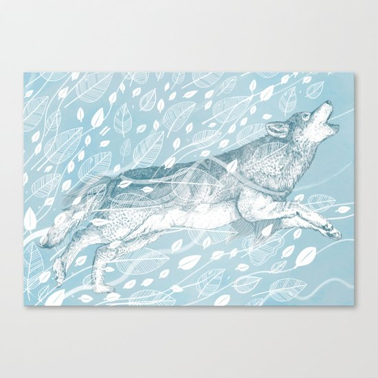Wild Wind Canvas Print