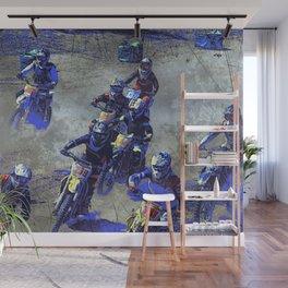 Lets Race!  - Motocross Racers Wall Mural