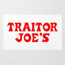 Traitor Joe's Rug