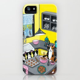 Baking With Mom iPhone Case