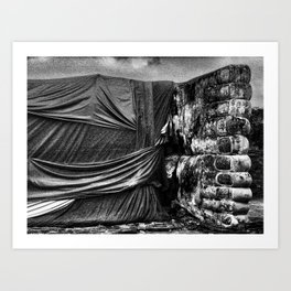 Ayutthaya, Thailand Art Print