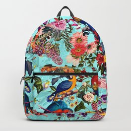 Floral and Birds XI Backpack