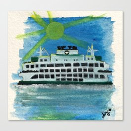 Sailing on Heavenly Seas Canvas Print