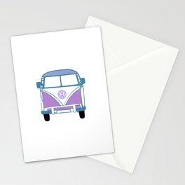 Retro Van Stationery Cards