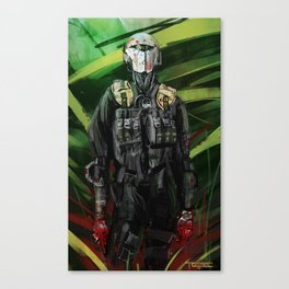 The Incident Canvas Print
