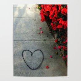 Street Heart Poster