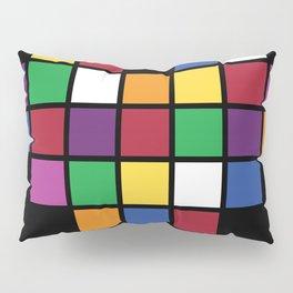 Pixel Heart Multicolor Love Pillow Sham