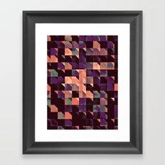 trygydy lyyt Framed Art Print