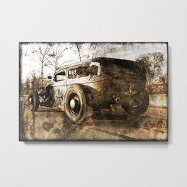 The Pixeleye - Special Edition Hot Rod Series III Metal Print
