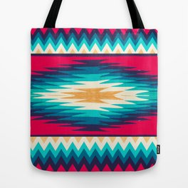SURF GIRL CHEVRON Tote Bag