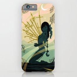 10 of Swords iPhone Case